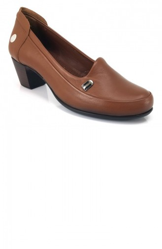 Chaussures a Talons Tabac 7652