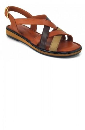 Sandales D`été Tabac 8037