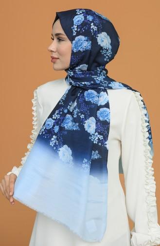 Châle Bleu Glacé 1022-08
