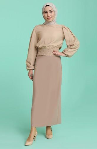 Mink Skirt 2223-09