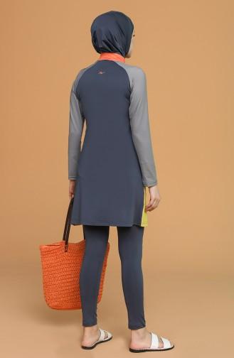 Anthracite Swimsuit Hijab 21605-01