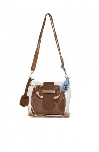 Tobacco Brown Shoulder Bag 8682166070268