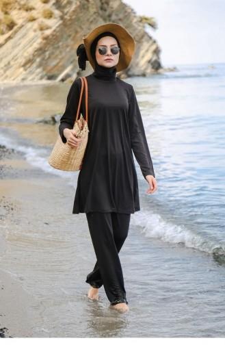 Black Modest Swimwear 45
