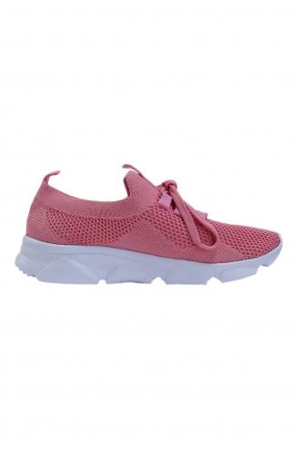 Life Comfort Günlük Kadın Triko Spor Ayakkabı P00000962-15 Pembe