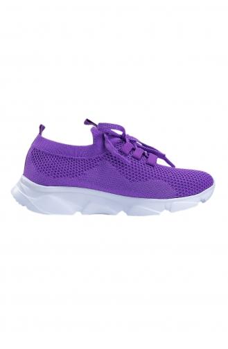 Life Comfort Günlük Kadın Triko Spor Ayakkabı P00000962-08 Mor