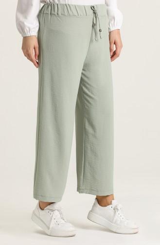 Pantalon Vert noisette 9036-08