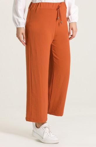 Brick Red Pants 9036-05