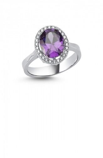 Silbergrau Ring 000102-3479
