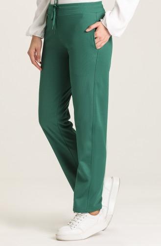 Sweatpants أخضر زمردي 142014-01