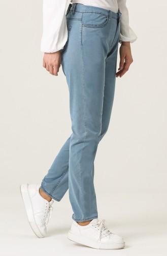 Pantalon Bleu Jean 0762-01