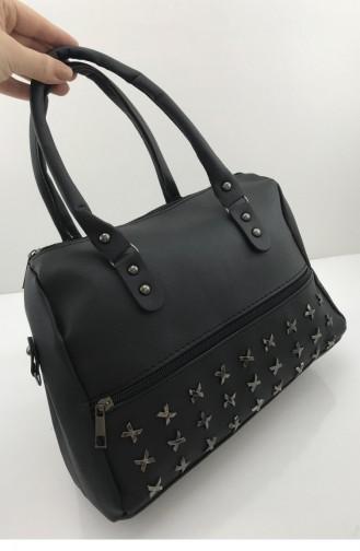 Schwarz Portfolio Handtasche 001156.SIYAH