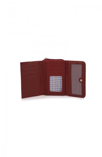 Claret red Wallet 53Z-11