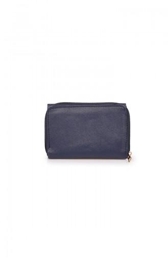 محفظة نقود أزرق كحلي 53Z-12