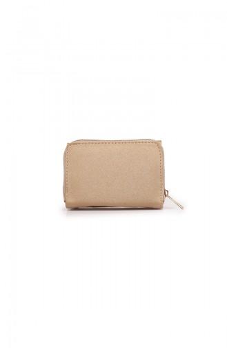 محفظة نقود ذهبي 53Z-06