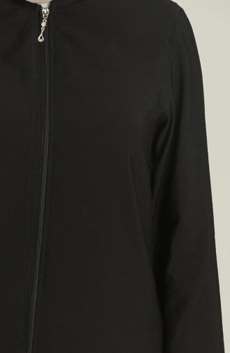 Fermuarlı Kap 4300A-01 Siyah