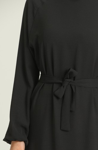 Robe Hijab Noir 1009-06