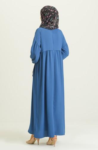 Indigo İslamitische Jurk 21Y8410-03