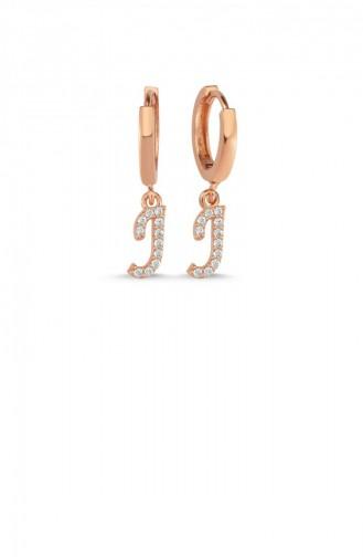 Rosa Haut Ohrring 005-3777