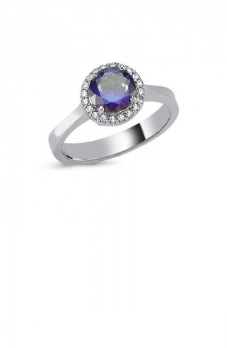 Silbergrau Ring 0072-5416