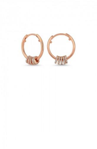 Rosa Haut Ohrring 00220-3998