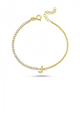 Goldfarbig Armband 00261-4190