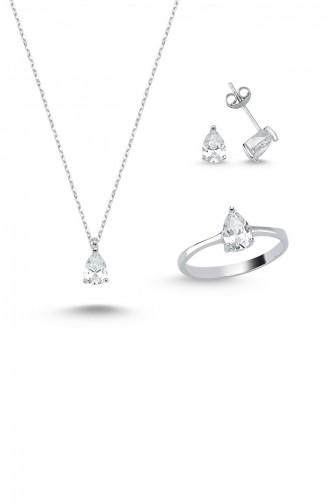 Silver Gray Jewellery 6079-4838
