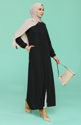 Black Abaya 1013-02