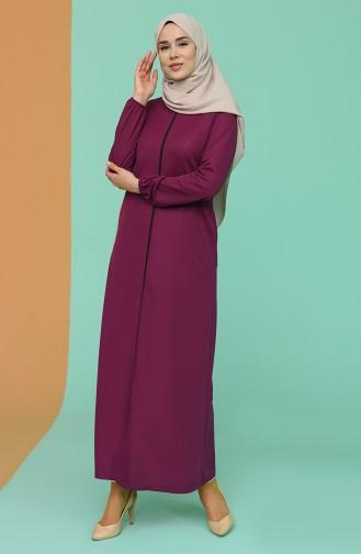 Plum Abaya 1013-03