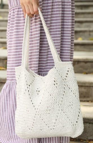 Ecru Shoulder Bags 04