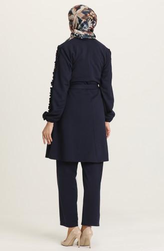 Navy Blue Suit 2656-02