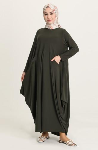 Robe Hijab Khaki 1686-03