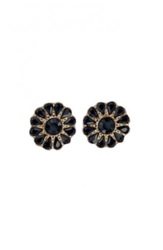 Black Earrings 0977-01