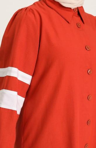 Brick Red Shirt 21Y8375-07