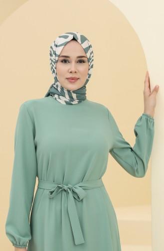 Green Almond Hijab Dress 2003-01