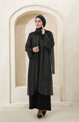 Black İslamitische Avondjurk 3159-01