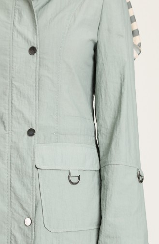 Trench Coat Vert noisette 2000-06