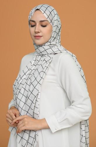 Weiß Schal 9503-08