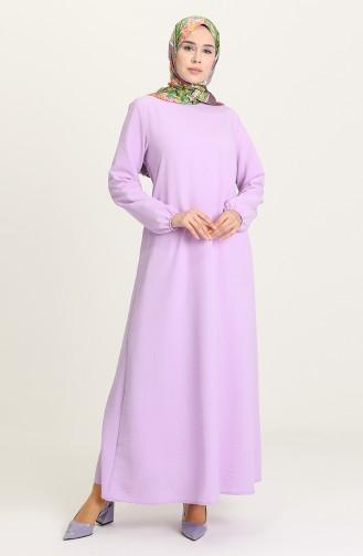 Lila Hijap Kleider 0636-04