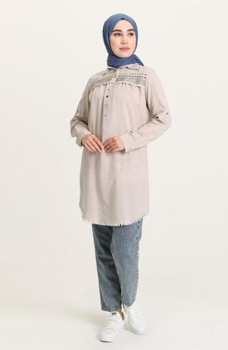 Beige Tunics 3009-06