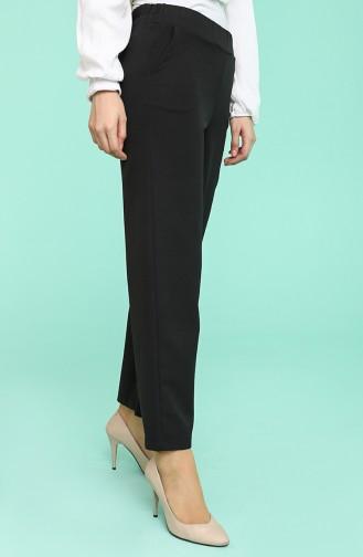 Pantalon Noir 7241-01