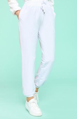 Pantalon Bleu Glacé 0192-10