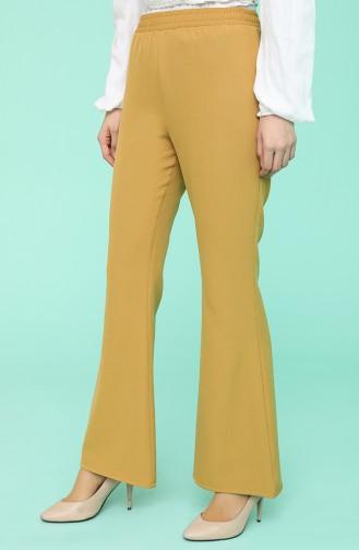Pantalon Moutarde 101015PNT-02
