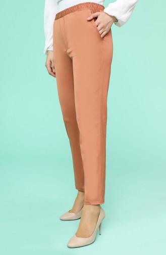 Apricot Color Pants 9046-14