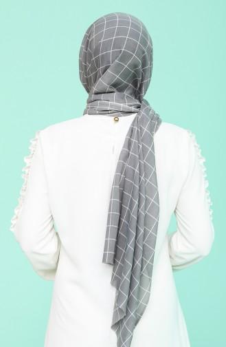 Grau Schal 9503-18