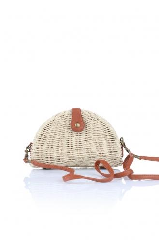 Beige Shoulder Bags 1008-06