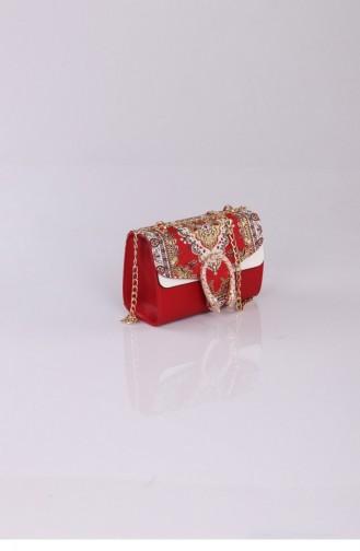 Red Shoulder Bags 2448