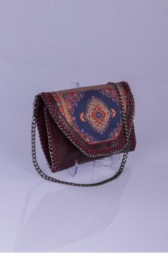 حقيبة يد أحمر كلاريت 2491