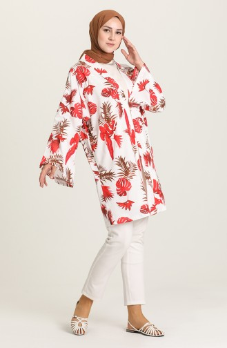 Claret red Kimono 5070-03