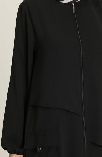 Abayas Noir 8047-01
