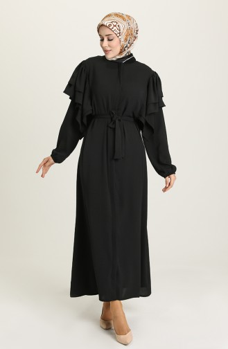 Black Abaya 8048-01
